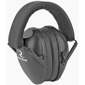 Radians Lowset Youth Hearing Protection Earmuff Black NRR 21