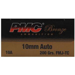 PMC Bronze 10mm Auto 200gr FMJ TC 1050 fps 50 Rounds