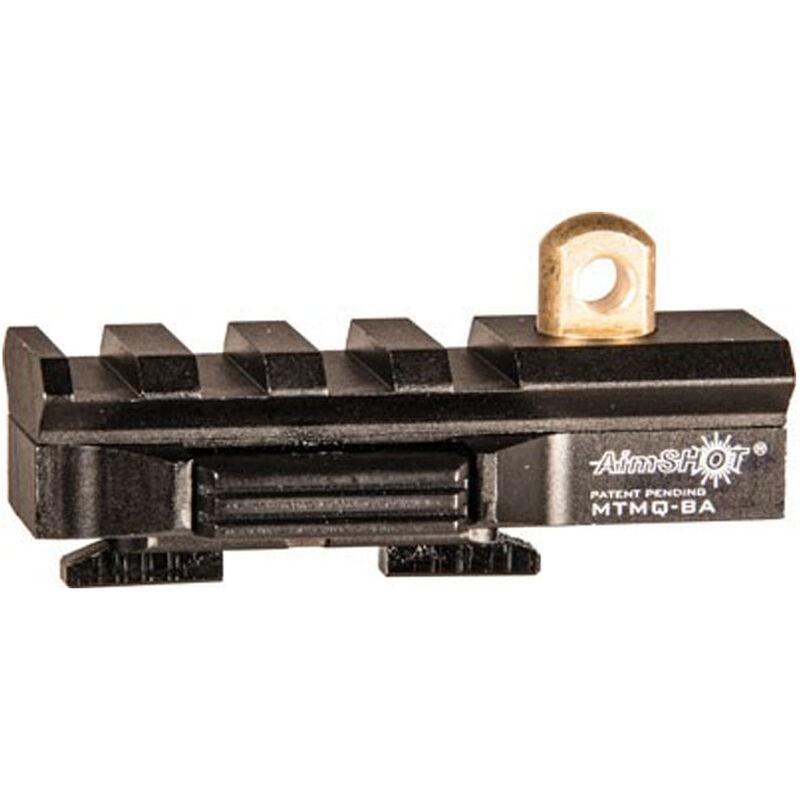AimSHOT Quick Release M-LOK Rail with Sling Swivel Stud Black