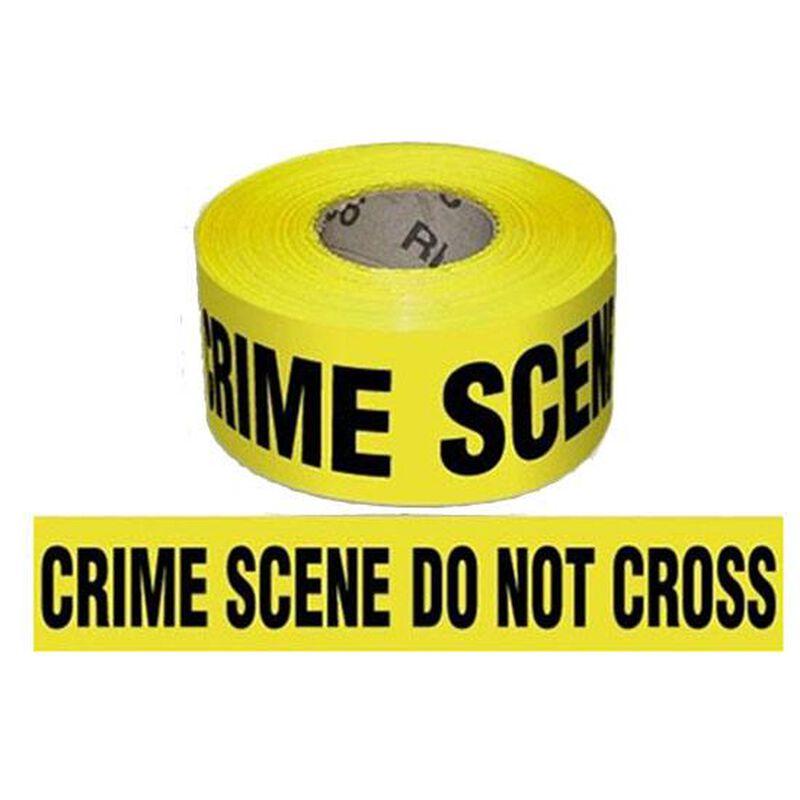 "Pro-Line Barricade Tape 1000' ""Crime Scene"" Tape 3"" Width BT02"