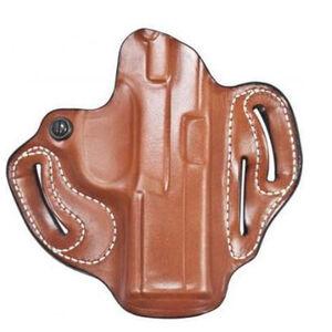 "DeSantis Speed Scabbard GLOCK 26/27/33/39 OWB 1.75"" Belt Right Hand Leather Tan"