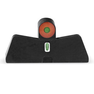 XS Sights DXT2 Big Dot Night Sights S&W M&P Shield Models Green Tritium Front With Orange Ring/Tritium Stripe Rear Matte Black