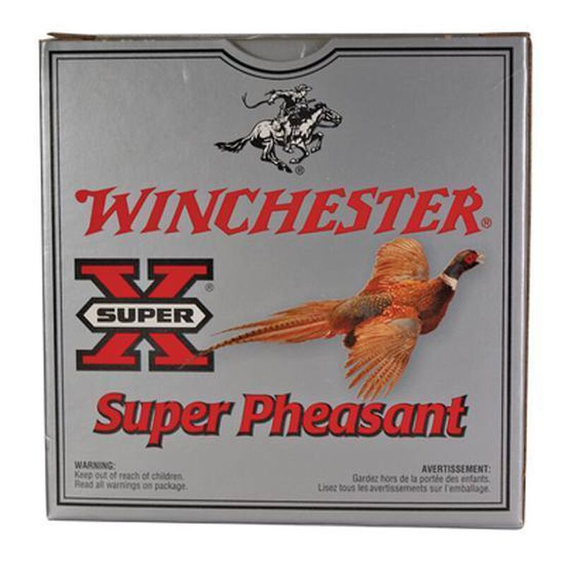 "Winchester Super Pheasant 20 Gauge Ammunition 250 Rounds 3"" #5 Copper Plated 1-1/4oz 1250fps"