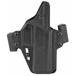 Raven Concealment Systems Perun OWB Holster For SIG Sauer P320.X-Carry Ambidextrous Draw Matte Black Finish