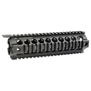 "Midwest Industries AR-15 G2 Two Piece Drop-In Handguard Mid Length 9"" Aluminum Black MCTAR-18G2"