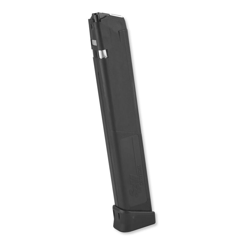 SGM Tactical Magazine For GLOCK 22/23/27/35 .40 S&W 31 Rounds Polymer Black SGMT40G31R