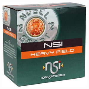 "NobelSport Heavy Field 20 ga 2.75"" #6 Lead 1 oz 25 Round Box"