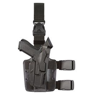 Safariland 7355 Tactical Holster Fits GLOCK 17 Gen 5 Right Hand SafariSeven Plain Black