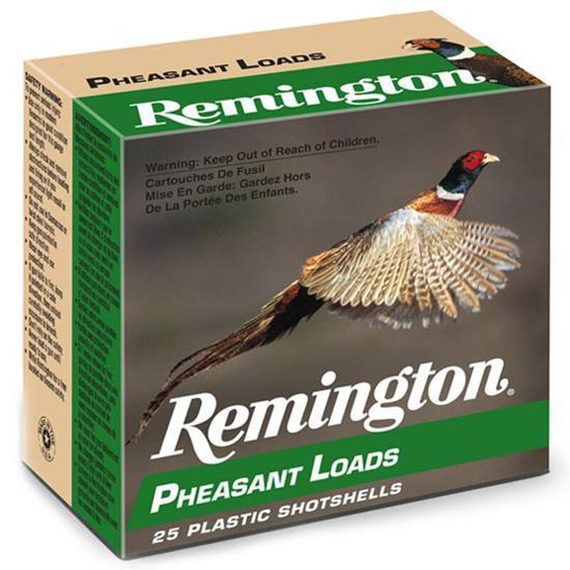 "Remington Pheasant 12 Ga 2.75"" #5 Lead 1.25oz 250 rds"