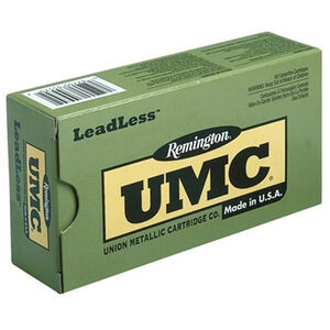 Remington UMC LeadLess .45 ACP Ammunition 50 Rounds 230 Grain Flat Nose Encased Base 835fps