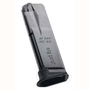 SIG Sauer, SP2022 Magazine, 10 Rounds, .40 S&W, Steel, Black