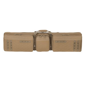 """Voodoo Tactical 56"""" 3-Gun Competition Weapons Case Nylon Coyote"""