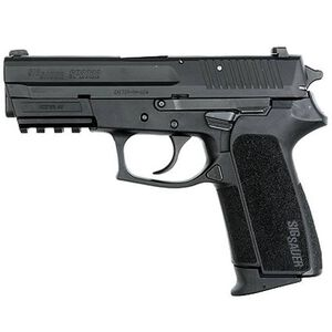 "SIG Sauer SP2022 Semi Automatic Pistol .40 S&W 3.9"" Barrel 10 Round Capacity Polymer Grips Nitron Finish SP2022-40-B-CA"