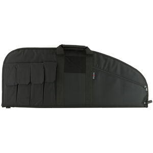 "Allen Company Battalion Tactical Rifle Case 32"" with Magazine Pockets Synthetic Endura Fabric Black"