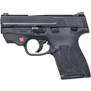 "S&W M&P9 Shield M2.0 Integrated Crimson Trace Red Laser 9mm Semi Auto Pistol 3.1"" Barrel 8 Rounds Thumb Safety Black"