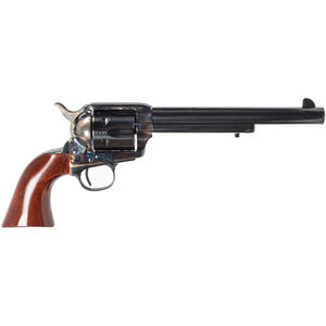 "Cimarron U.S. Cavalry Model Revolver .45 Colt 7.5"" Barrel 6 Rounds Walnut Grips Case Hardened and Blue Finish"