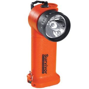 Streamlight Survivor Series C4 LED Flashlight 140 Lumen 4 Function 4x AA Battery Click Switch Polymer Body Orange 90540