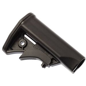 LWRC International AR-15 Compact Carbine Stock Mil-Spec Diameter Polymer Matte Black