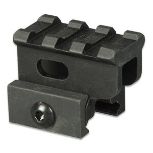 "Lion Gears AR-15 Tactical 1"" Riser Mount 3 Slots 1.45"" Long Aluminum Black BM0310"