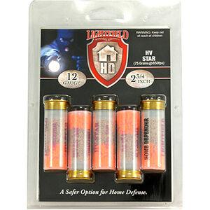 """Lightfield Home Defender 12 Gauge Ammunition 5 Rounds 2-3/4"""" HV Star 850fps"""