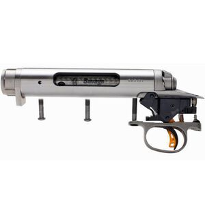 Savage Single Shot Target Action Standard Short Action Bolt Head Right Bolt Left Port Target AccuTrigger Stainless 18182