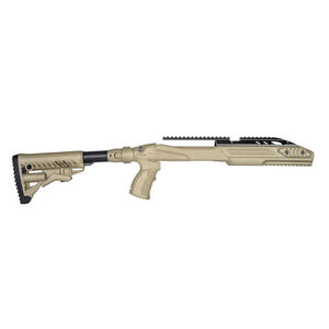 FAB Defense M4 Pro Ruger 10/22 Collapsible Stock Conversion Kit FDE