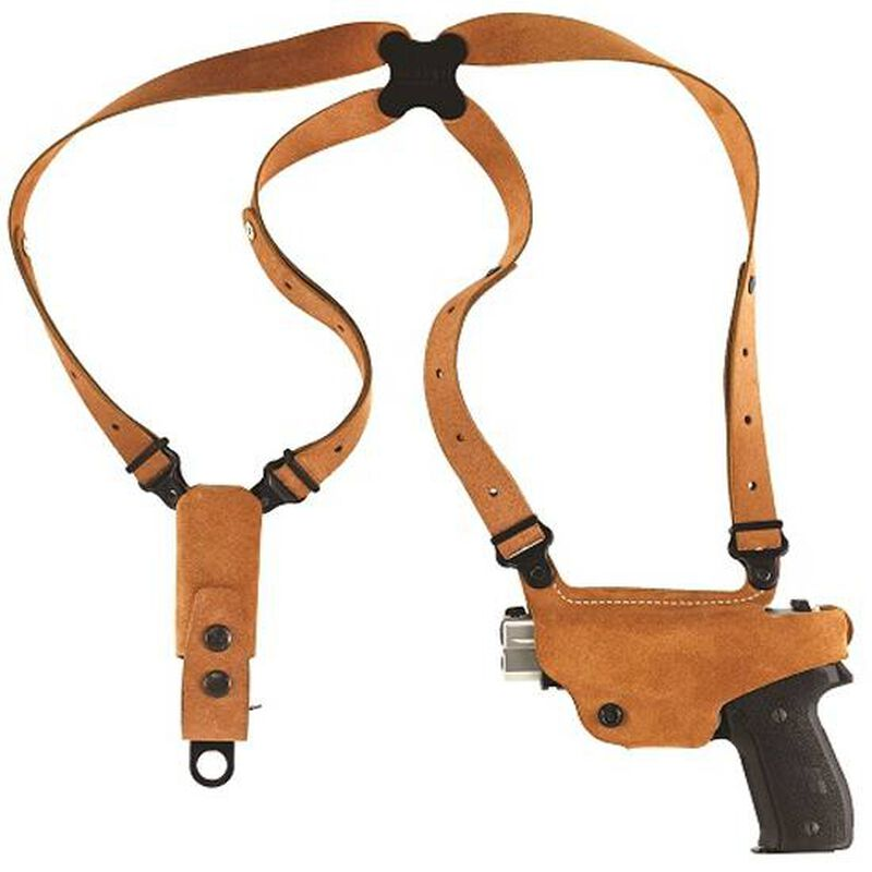 Galco Classic Lite Kahr CW9/40, K9/40, MK9/40, P9/40, T9 Shoulder Holster System Left Hand Leather Natural CL291
