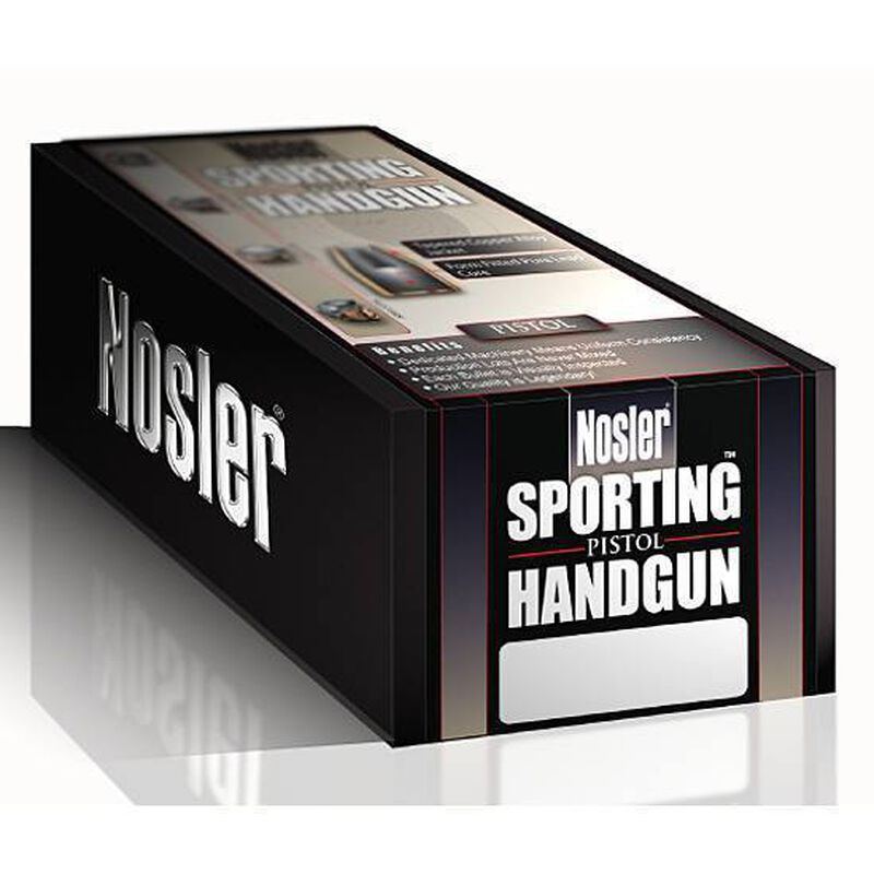 "Nolser .40 Caliber .400"" Diameter 135 Grain Jacketed Hollow Point Sporting Hangun Bullets 250 Count 44852"