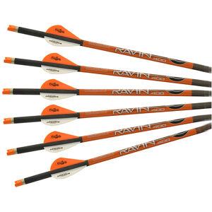"Ravin .003 Arrows Carbon Construction 20"" Long 400 Grain Standard OEM 6 Pack"