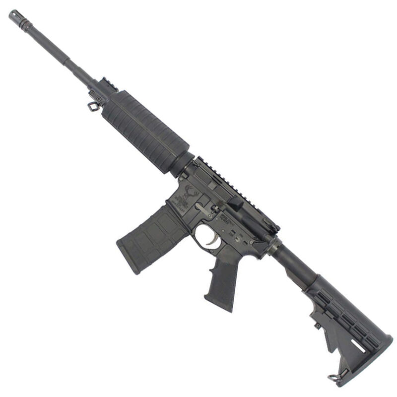 """Stag Arms STAG-15 Optics Ready Carbine 5.56 NATO Semi Auto Rifle 16"""" Barrel 30 Rounds Mil-Spec 6 Position Buttstock Left Hand Action Matte Black Finish"""