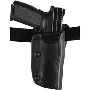 Safariland 567 Custom Fit Belt Holster, Ruger P95 and Railed 1911, Right Hand, Plain Black