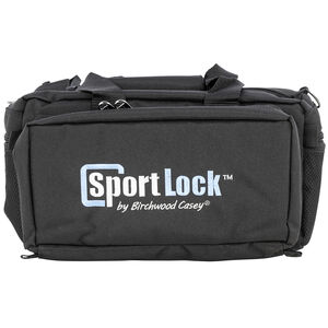 """Birchwood Casey SportLock Deluxe Range Bag 14""""x11""""x8"""" Black"""