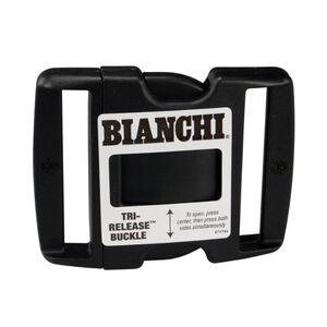 "Bianchi Buckle Tri-Release 2.25"" Belt Plastic Black 90060"