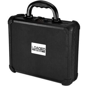 Barska Loaded Gear AX-50 Locking Pistol Hard Case Aluminum Black BH11948