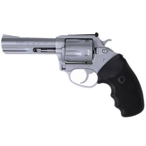 "Charter Arms Target Mag Pug Double Action Revolver .357 Magnum 4.2"" Barrel 5 Round Cylinder Steel Frame Rubber Grip Stainless Steel Finish 73542"
