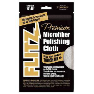 "Flitz Premium Microfiber Polishing Cloth 16""x16"" MC200"