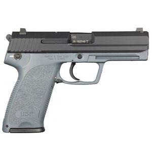 "HK USP 45 V1 DA/SA Semi Auto Pistol .45ACP 4.41"" Barrel 10 Rounds Standard 3 Dot Sights Fiber Reinforced Frame Gray"