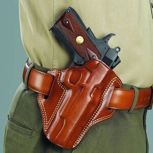 Galco Combat Master Belt Holster S&W Right Hand Leather Tan CM244