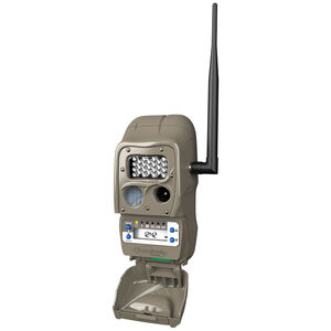 CuddeBack CuddeLink Long Range IR Trail Cameras 5MP or 20 MP Images 12 AA Batteries ID Bar Day and Night Mode Brown Finish
