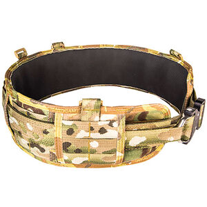 High Speed Gear Sure-Grip Padded Belt Slotted Small MultiCam
