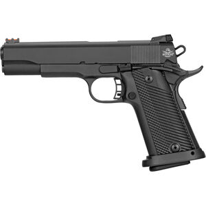 "Rock Island Armory Rock Ultra Full Size HC 1911 Semi Auto Handgun 10mm Auto 5"" Barrel 16 Rounds Parkerized Steel Frame G10 Grips Black"