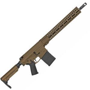"CMMG Resolute 300 Mk3 .308 Win AR-308 Semi Auto Rifle 16"" Barrel 20 Rounds RML15 M-LOK Handguard RipStock Collapsible Stock Midnight Bronze Finish"