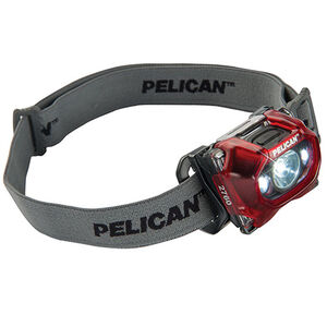 Pelican 2760 LED Head Light 204 Lumens Red 027600-0101-170