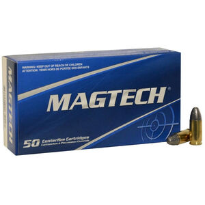 Magtech 9mm Luger Ammunition 1000 Rounds LRN 124 Grains 9E