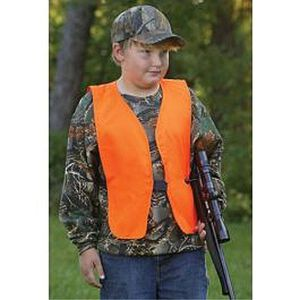 Allen Youth Orange Safety Vest
