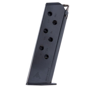 Mec-Gar Walther PPK/S 7 Round Magazine .380 ACP Carbon Steel Tube Blued Finish