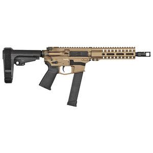 "CMMG Banshee 300 MK10 10mm Auto AR-15 Semi Auto Pistol 8"" Barrel 30 Rounds GLOCK Style Magazine RML7 Free Float M-LOK Hand Guard Cerakote FDE"