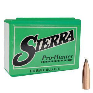 "Sierra 7mm .284"" Diameter 140 Grain Pro-Hunter Spitzer Point Bullets 100 Count"