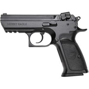 "Magnum Research Baby Desert Eagle III 9mm Semi Auto Pistol Semi-Compact Size 3.85"" Barrel 10 Rounds Combat 3 Dot Fixed Sights Steel Frame Matte Black Finish"