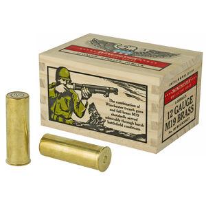 "Winchester Victory Series 12 Gauge Ammunition 5 Rounds 2-3/4"" 00 Buckshot 9 Pellets  Full Brass Casing 1100fps"